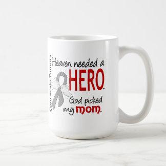 Brain Tumors Heaven Needed a Hero Mom Classic White Coffee Mug