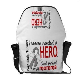 Brain Tumors Heaven Needed a Hero Momma Courier Bag
