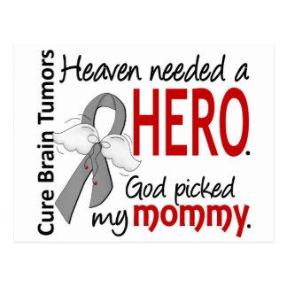 Brain Tumors Heaven Needed a Hero Mommy Postcard