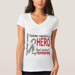 Brain Tumors Heaven Needed a Hero Mommy Tee Shirt