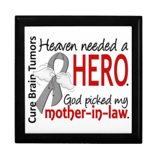 Brain Tumors Heaven Needed a Hero Mother-In-Law Gift Boxes