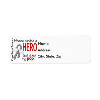 Brain Tumors Heaven Needed a Hero Pop Label