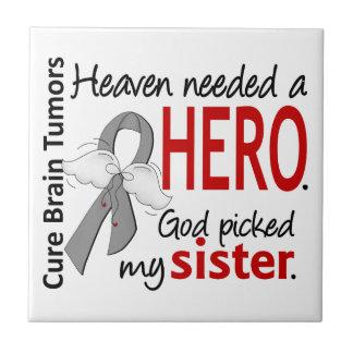 Brain Tumors Heaven Needed a Hero Sister Tile