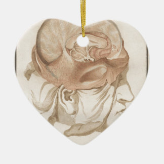 Brain Two - Neuroanatomy Ceramic Ornament