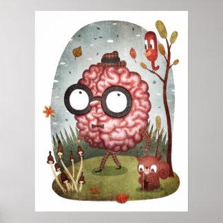 Brain Walk Poster