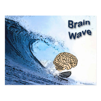 Brain Wave Postcard