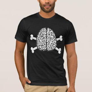 Brain with Crossbones T-Shirt