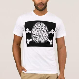 Brain with Crossbones Tee