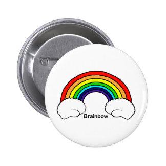 Brainbow Pinback Button