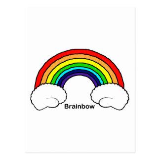 Brainbow Postcard