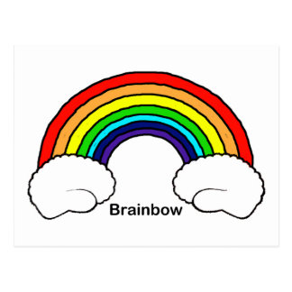 Brainbow Postcard