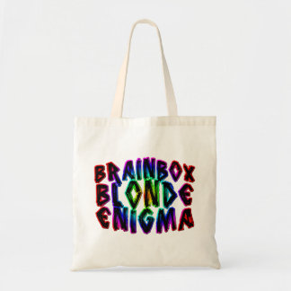 Brainbox Blonde Enigma Tote Bag