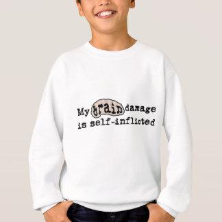 BrainDamage_lite-crop Sweatshirt