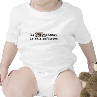 BrainDamage_lite-crop T Shirts