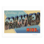 Brainerd, Minnesota - Large Letter Scenes Postcard