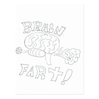 BrainFart! Postcard