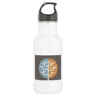 Brainfood Braintree Logo 18oz Water Bottle