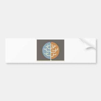 Brainfood Braintree Logo Car Bumper Sticker