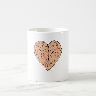 Brainheart Classic White Coffee Mug