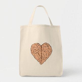 Brainheart Tote Bag