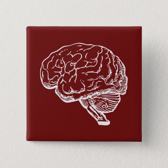 Brainiac Pinback Button
