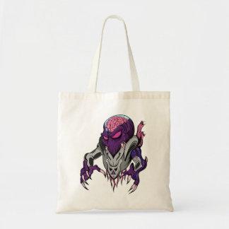 Brainiac Robotic Alien Tote Bag