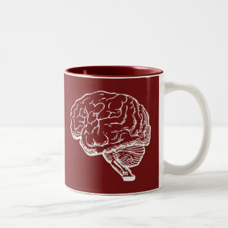 Brainiac Two-Tone Coffee Mug