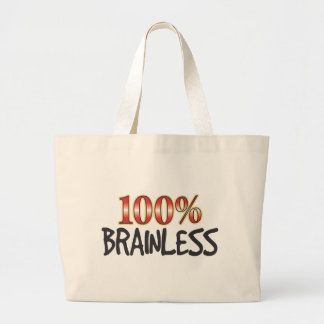 Brainless 100 Percent Canvas Bags