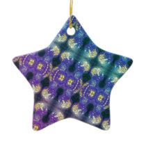 Brainman Pattern Ceramic Ornament