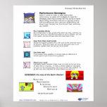 Brainology® Poster 8: Performance Strategies