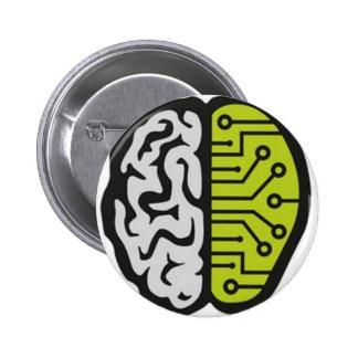 BrainPain Pinback Buttons