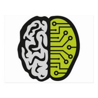 BrainPain Tarjeta Postal