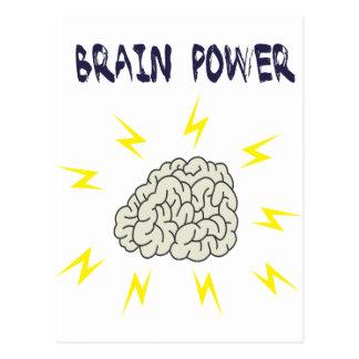 Brainpower - Use Your Brain Postcard