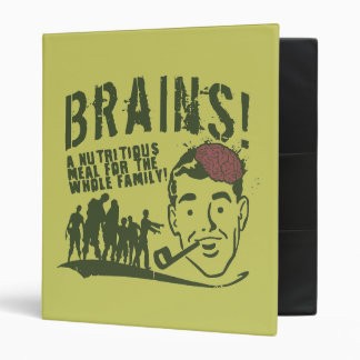 Brains! 3 Ring Binder