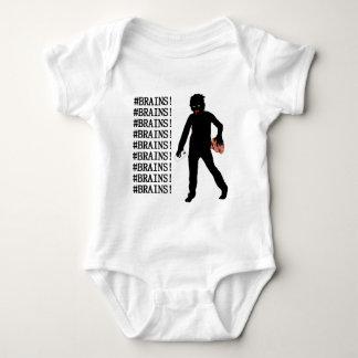 #BRAINS! BABY BODYSUIT