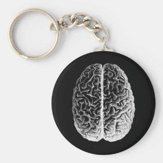 Brains! Basic Round Button Keychain