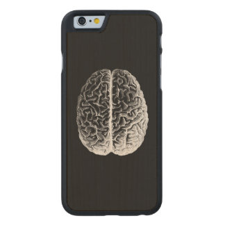 Brains! Carved® Maple iPhone 6 Case