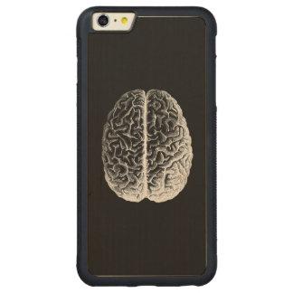 Brains! Carved® Maple iPhone 6 Plus Bumper