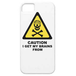 brains iPhone 5 covers