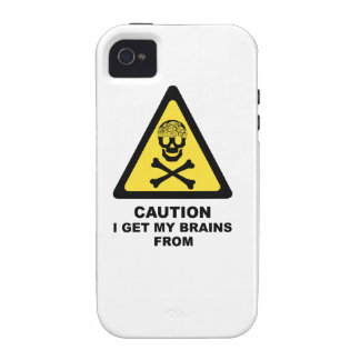 brains Case-Mate iPhone 4 covers