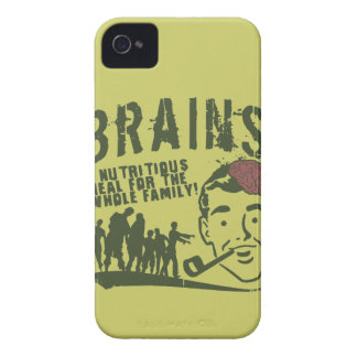Brains! iPhone 4 Covers