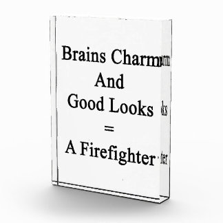 Brains Charm And Good Looks Equals A Firefighter Awards