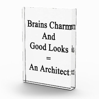 Brains Charm And Good Looks Equals An Architect Awards
