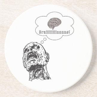 Brains Beverage Coaster