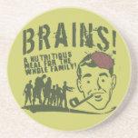 Brains! Drink Coaster