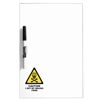 brains Dry-Erase board
