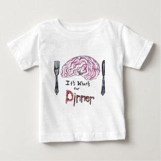 Brains for Dinner Baby T-Shirt