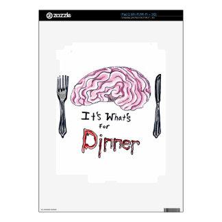 Brains for Dinner Skin For iPad 2