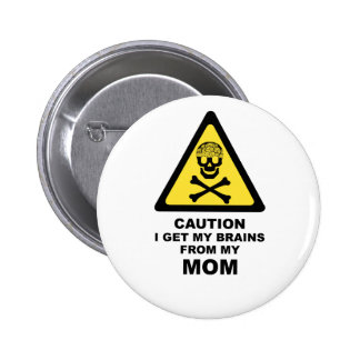 brains from mom button