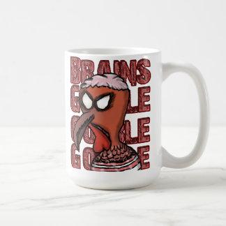 Brains Gobble Gobble Gobble Mug